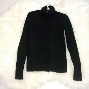 Black Turtle Neck Sweater  Banana Republic